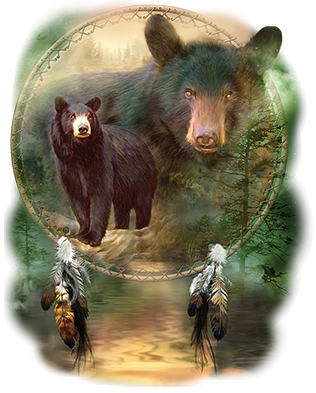 Spirit Black Bear