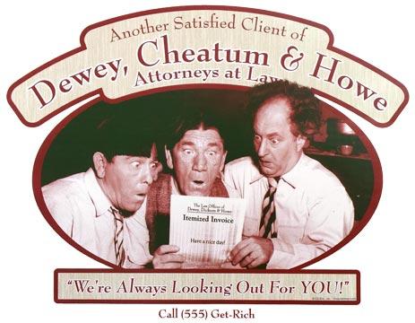 Resultado de imagen para dewey cheatum and howe